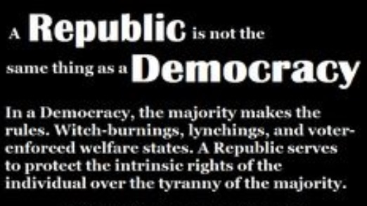 difference between jeffersonian democracy and republicanism