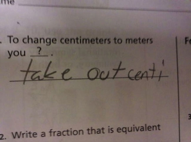 Test Answers That Are Wrong But Totally Genius At The Same - 38 test answers totally wrong 100 genius