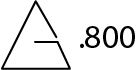Triangle mark 800 German Antiq silver mark.jpg